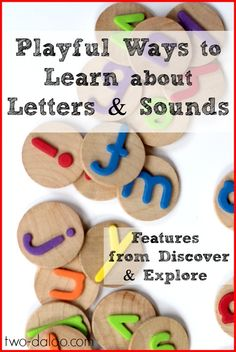 An amazing collection of playful ways to learn about alphabet letters and sounds from talented kid bloggers.