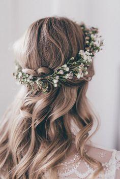 Best Top 50 Wedding Short Hairstyles With Flower Crown Ideas https://oosile.com/top-50-wedding-short-hairstyles-with-flower-crown-ideas-13131