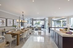 Astor Grange 54- Classic Dining and Kitchen Design