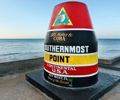 Southernmost point in the continental USA - Key West, Florida.