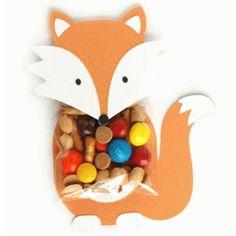 Silhouette Design Store - View Design #40508: fox treat holder