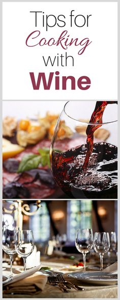 Cooking with wine is a great way to impress others with your cooking skills, so get started today with some of the best tips for cooking with wine.