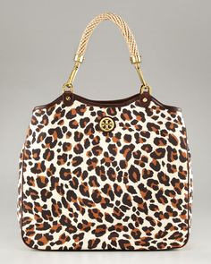 OMG! Tory Burch- Leopard Channing Tote. Getcha one...