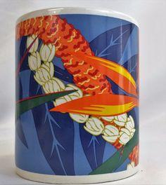 Vintage Hilo Hattie 1999 Coffee Tea Mug The Store of Hawaii Hibiscus Paradise #HiloHattie #mug