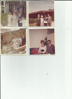 Vintage photos Lot of 4 Couples All Dressed by vintagepostexchange, $5.00