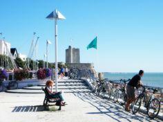 #Promenade #Detente #Velo #Plage #Fouras #Ete #Vacances #RochefortOcean Charente Maritime Poitou Charentes France, Photos, Relax, Street View, Sport, Travel, North Sea, Landscape, Pictures