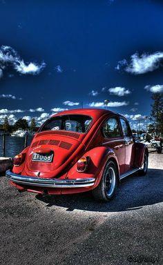 Vw Bugs, Retro Cars, Vintage Cars, Vw Super Beetle, Kdf Wagen, Drift Trike, Ferdinand Porsche, Engin, Cute Cars