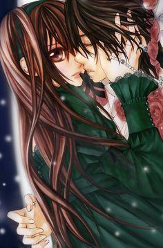 vampire knigth kaname x yuki <3