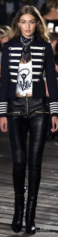 Tommy Hilfiger FW2016 Women's Fashion RTW | Purely Inspiration