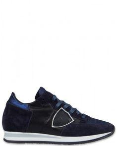 Philippe Model Tropez L D Damen Sneaker schwarzblau