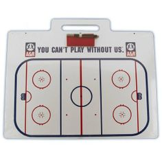"A & R Allied Enterprise, Inc. Jumbo Hockey Coach Board w/ Handle by A & R Allied Enterprise, Inc.. $32.99. Jumbo. A&R Jumbo Hockey Coach Board w/ Handle16"" X 22""Convenient carry handle Additional pens available"