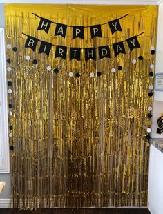 This item is unavailable 50th Birthday Themes, Birthday Decorations At Home, Sweet 16 Decorations, 70th Birthday Parties, Barbie Birthday, Gold Birthday, Man Birthday, 17th Birthday, Birthday Photo Booths
