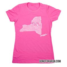 State runner everyday tees exclusively from GoneForaRun.com New York Runner