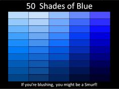 I like it. Can't be hard to put that on a shirt...50 shades of blue