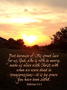 Posed Perfection: Food for the Soul ~ Ephesians 2:4-5