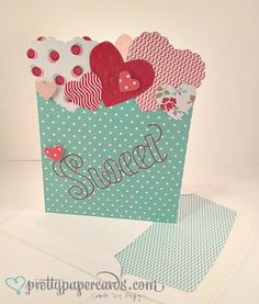 Sweet Valentine by Pretty Paper Cards - Cards and Paper Crafts at Splitcoaststampers