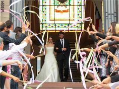 rubans de mariage