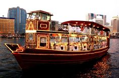 $68 includes show and is enclosed Luxury Dubai Dhow Dinner Cruise Including Sightseeing Along The Creek - TripAdvisor