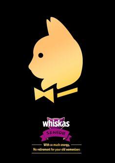Whiskas: No retirement, 2 Creative Director / Art Director / Copywriter…