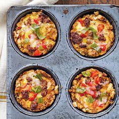 Savory Egg Muffins | MyRecipes.com