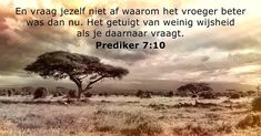 Prediker 7:10 - dailyverses.net