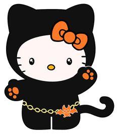 Hello Kitty Halloween Clip Art | Hello, Halloween Kitty by ~shynies on deviantART