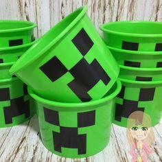 Balde para pipoca Minecraft