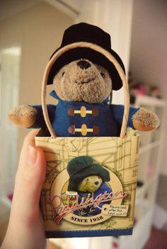 Paddington Bear - Savannah's favorite when she was little