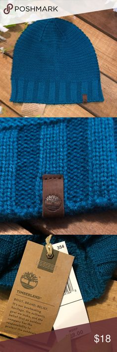 Timberland Women s Turquoise Beanie Timberland Women s Turquoise Beanie new  with tags. Timberland Accessories Hats 7c25634327bb