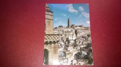 MATERA Italy SASSO BARISANO  old post card  POSTED 1979