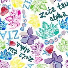 Francesca Joy sorority print - ZTA   #ZTA #ZetaTauAlpha