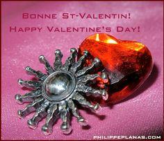 Happy Valentine's Day! | Bonne St-Valentin! from #planasjeweller