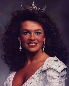 Miss Tennessee 1988 - Carrie Folks - Miss Bluegrass Festival - Miss America Non-Finalist Talent Award