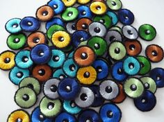 Embroidery Eyes With White Sparkle 2cm For Crochet Toys Sewn