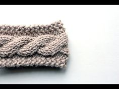 FREE Friendship Cable Headband Knitting Pattern Video, My Crafts and DIY Projects