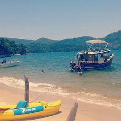 Praia de Paraty Mirim, verão - janeiro de 2015