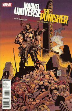 Marvel Universe Vs. The Punisher # 4 by Goran Parlov