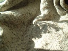Handcrafted Handmade Afghan,  Shabby Cottage  Knitted Afghan, Knitted Blanket