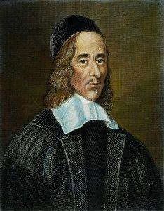 George Herbert (3 april 1593 - 1 maart 1633) Portret door Robert White, 1674