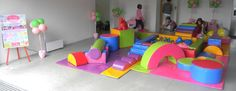 Soft Play Hire - can be used indoors or outdoors