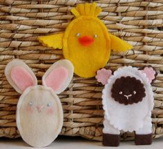 Adorable DIY Easter finger puppets (via fiskars.com)