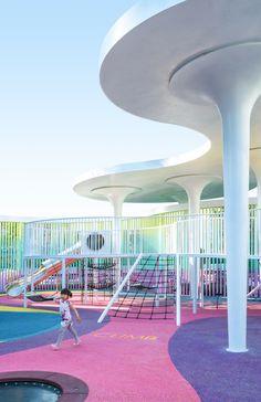 Modern Playground, Natural Playground, Playground Design, Backyard Playground, Children Playground, Landscape Structure, Landscape Architecture, Landscape Design, Design Thinking