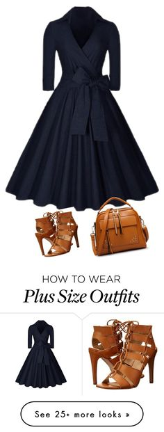 """Untitled #56"" by rose-ganda on Polyvore featuring Dolce Vita and Dressunder50"