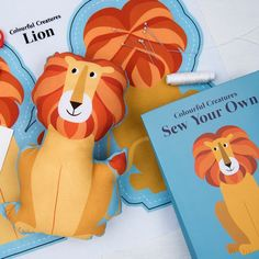 Make Your Own Lion Kit In A Bag