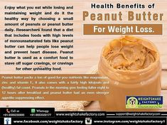 *#MUST READ (HEALTH BENEFITS OF PEANUT BUTTER FOR WEIGHT LOSS.)*   FREE CONSULTATION: Call☎/Whatsapp us📱 +919953329177.  For Diet Plan Inquiry: Email us- support@weightshakefactory.com Peanut Butter Benefits, Online Diet Plans, Health Benefits, Health Tips, Free Diet Plans, Different Diets, Lose Weight, Weight Loss, What You Eat