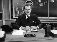 Peter Dimmock. First presenter of BBC'c 'Sportsview'  'Grandstand' etc back in the early fifties. Died today Nov.21 2015., aged 94.