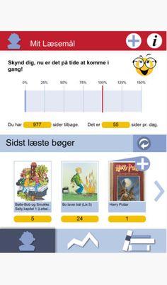 Læselog - Dansk app til at føre læselog med - læs Mads Remvigs anbefaling på skoleapps.com