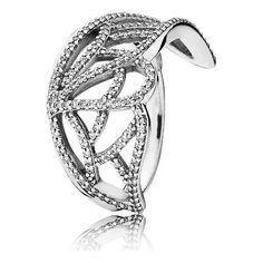 Anillo | Anéis  Pandora Ala de Mariposa 190937CZ