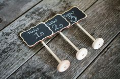 20 Wedding Chalkboard Table Stands Audrey Design for Weddings Table Numbers Candy Bar Food Marker Rustic Chalkboards Centerpiece Chalk Sign on Etsy, $120.00