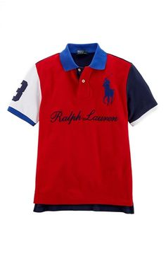 Ralph Lauren Cotton Mesh Polo (Big Boys) available at #Nordstrom